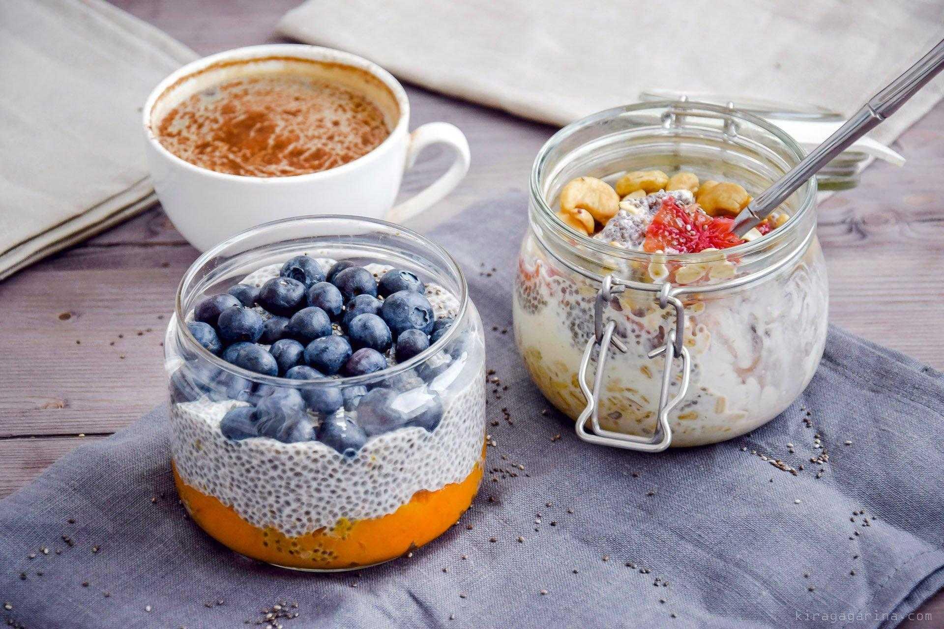 Рецепты с семенами чиа: блюда для завтрака, пудинги, смузи, суперфуды