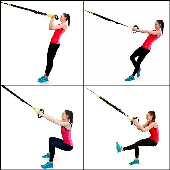 Топ-60 лучших упражнений с trx: подборка в гифках + готовый план тренировок!