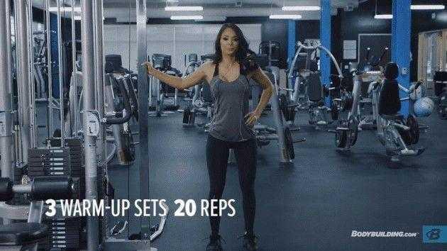 Лучшие видео с упражнениями для ног и ягодиц от чемпионок фитнес бикини