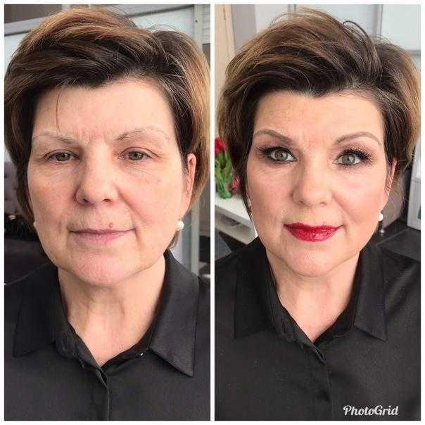 Как выглядеть моложе с помощью макияжа