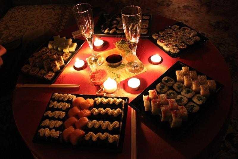 Романтический ужин для любимого в домашних условиях