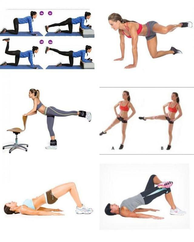Упражнения на заднюю часть бедра