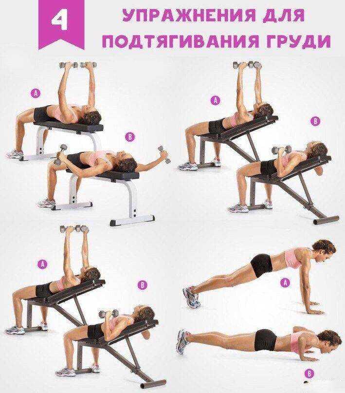5 лучших программ тренировки грудных мышц