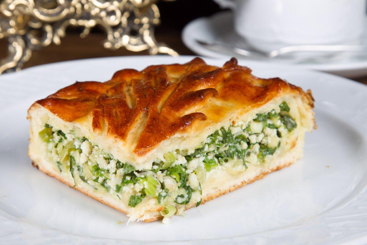 Пирог с семгой и овощами – кулинарный рецепт