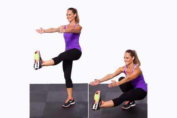 Приседания на одной ноге – плюсы и минусы упражнения