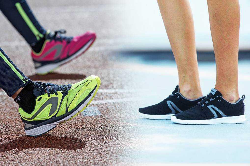 Кроссовки для бега по асфальту - особенности, критерии выбора
