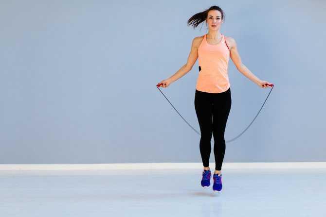 Упражнения для похудения со скакалкой