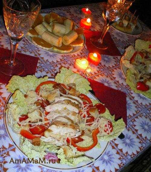 Что приготовить на романтический ужин для любимого: идеи, рецепты