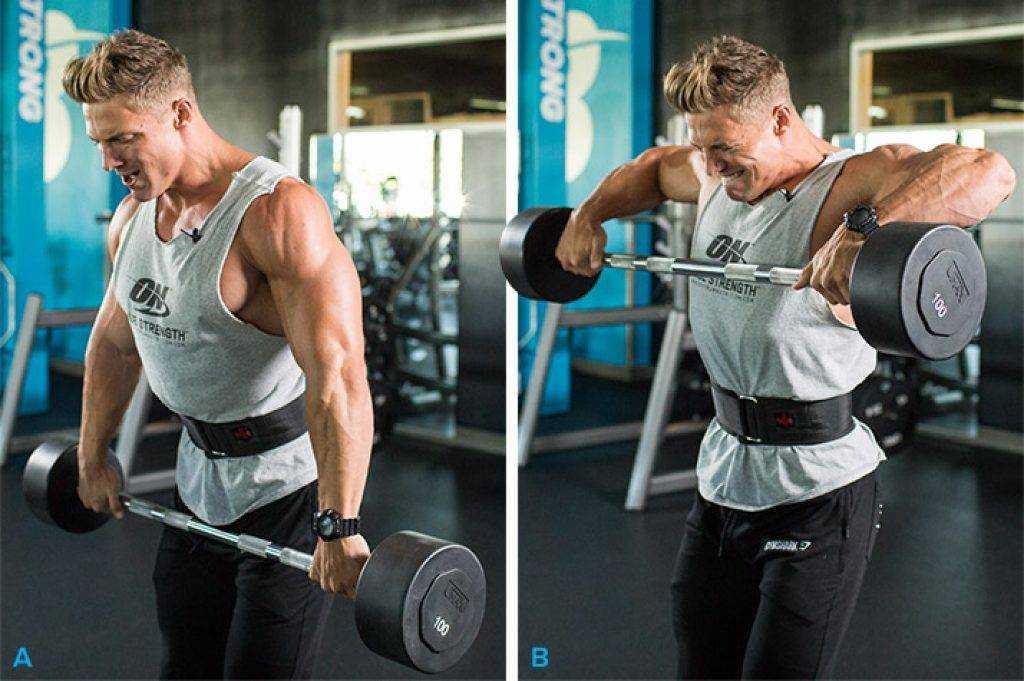 Как правильно качать плечи? программа лучших упражнений c гантелями
