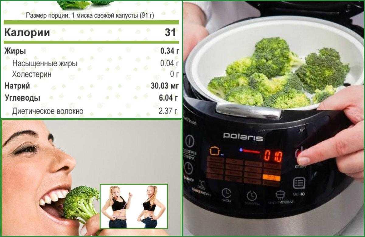 Брокколи для похудения – полезные свойства, диета с рецептами блюд, результаты и отзывы