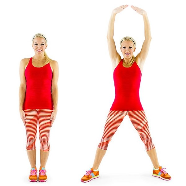 How to perform jumping jacks: 13 steps (with pictures) - wikihow