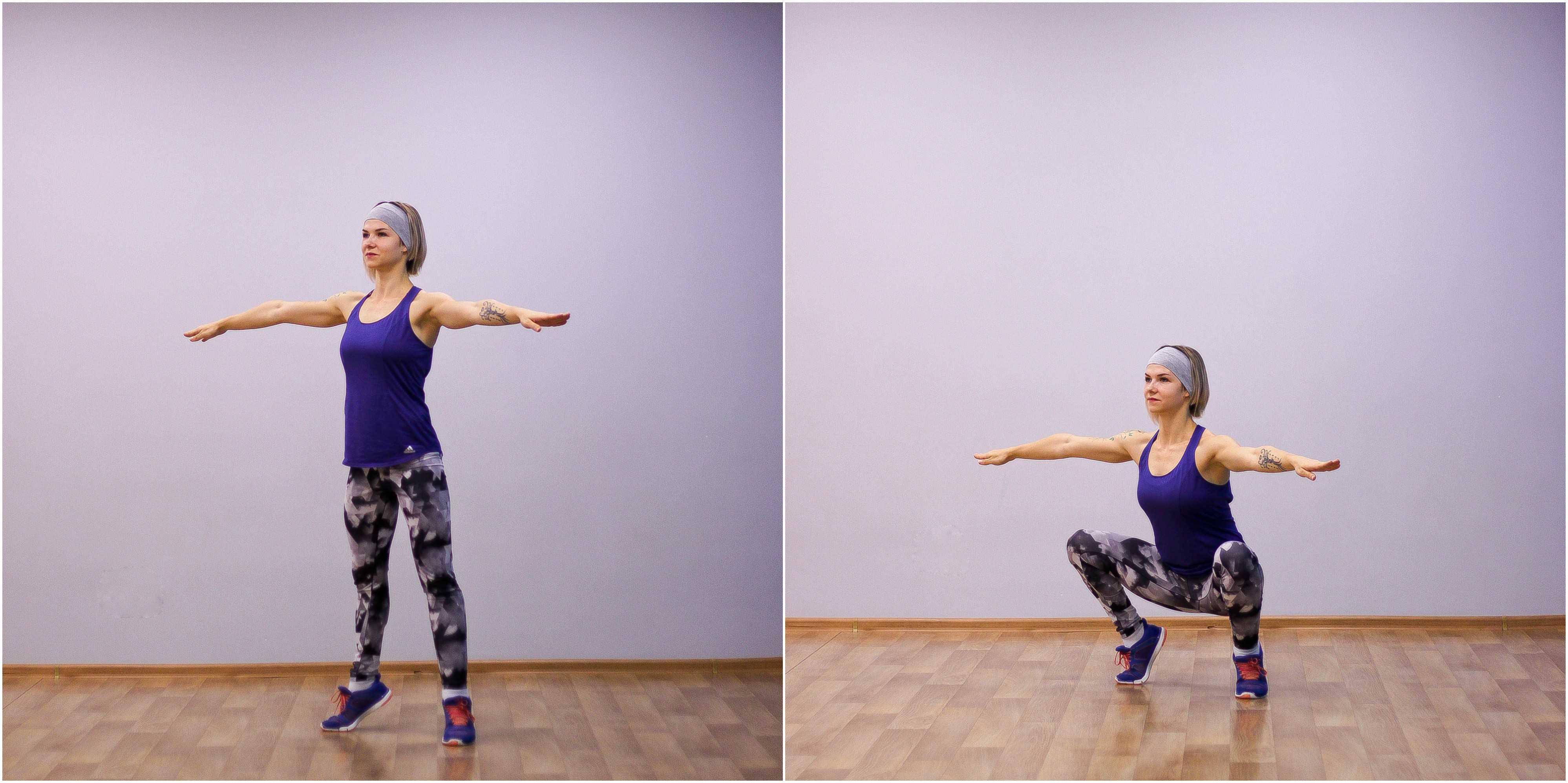 Это готовая интервальная тренировка для всего тела для новичков, которая поможет вам похудеть и подтянуть тела Готовый план упражнений с фото + разминка