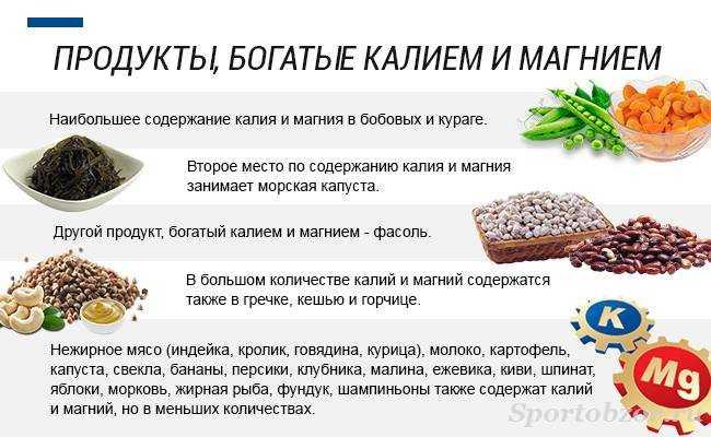10 продуктов питания богатых магнием: список продуктов