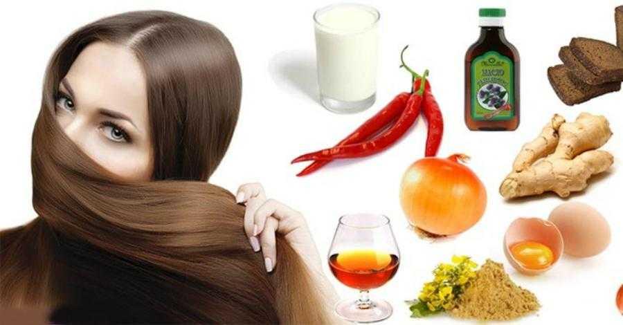 13 продуктов для красивых волос