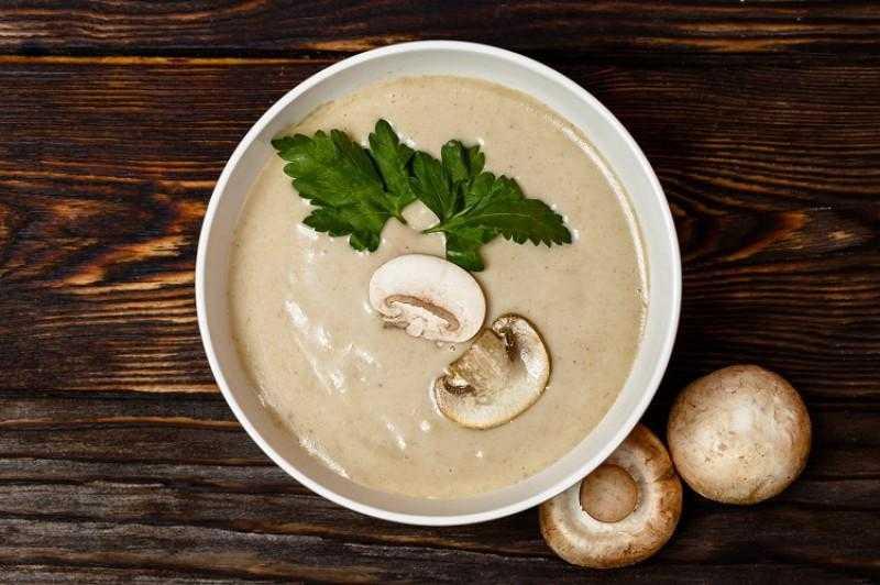 Грибной крем-суп из свежих или замороженных белых грибов. пошаговый рецепт сергея джуренко