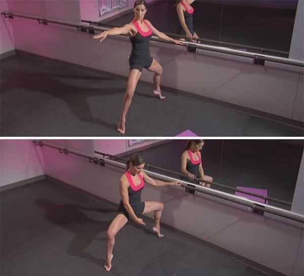 Комплекс упражнений с эластичной лентой для женщин