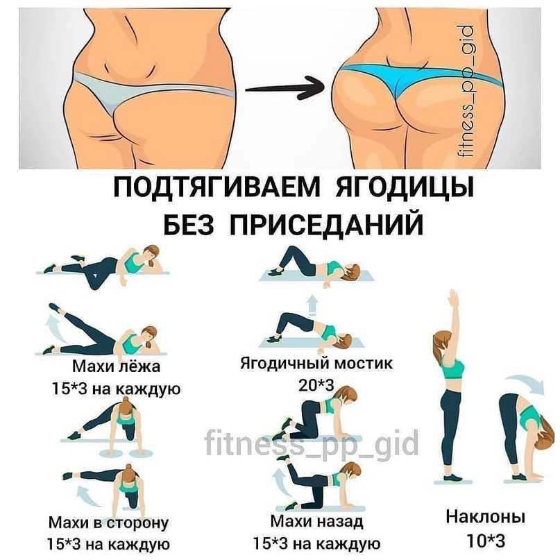 Тренировка для похудения ног и тонуса ягодиц: программа для продвинутых (день 1)