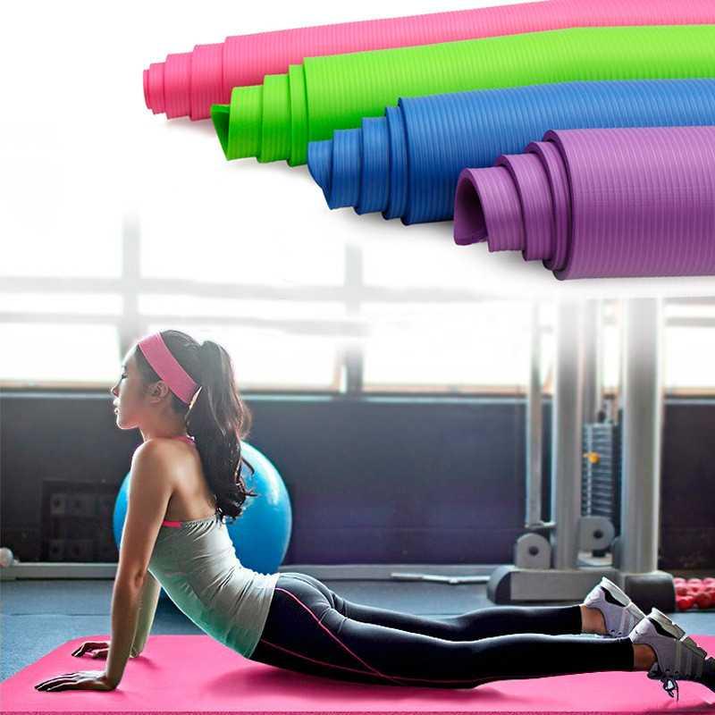 Гимнастический коврик для фитнеса и йоги