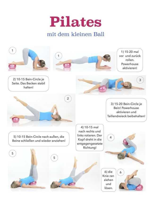 Упражнения джозефа пилатесадля мышц кора