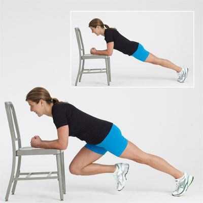 Упражнение скалолаз на какие группы мышц