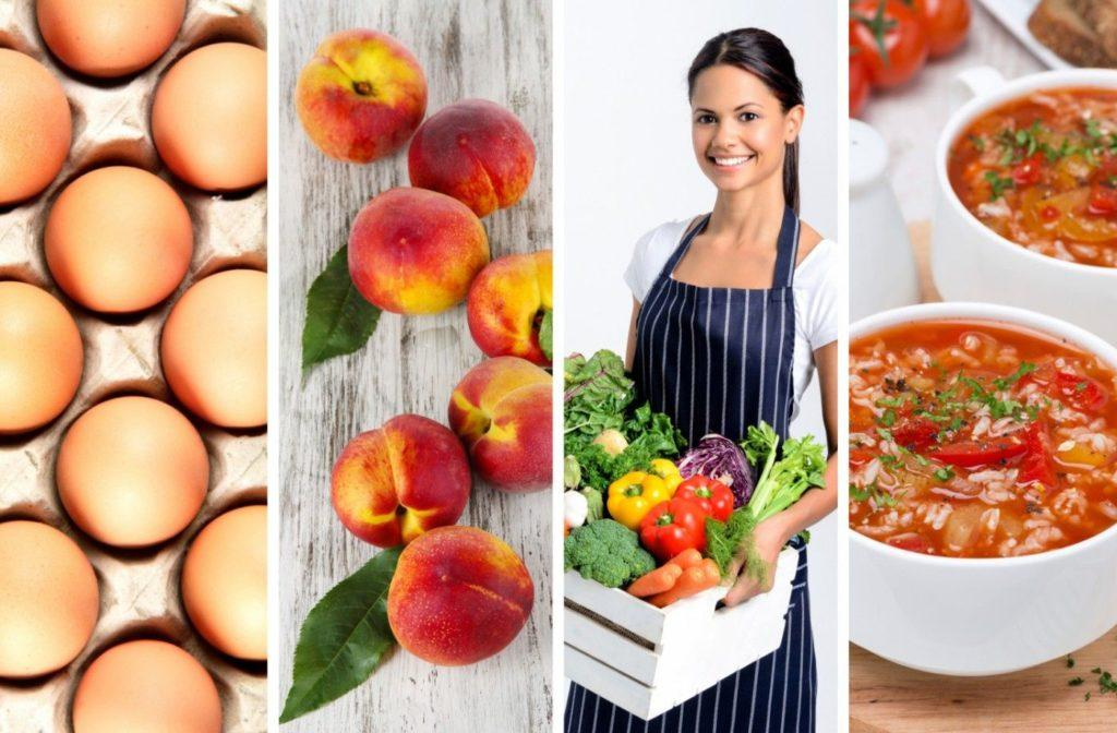 Овощи и фрукты для похудения список. список диетических продуктов для похудения | школа красоты
