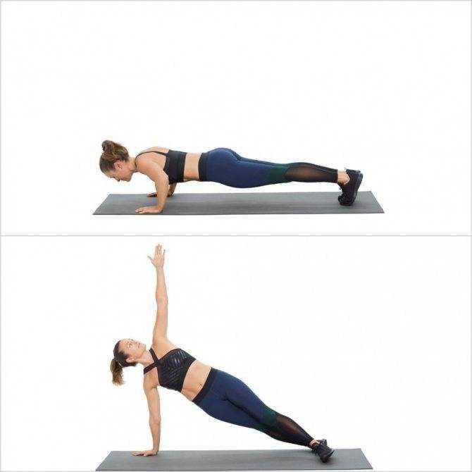 Упражнения для боков и талии - косые мышцы живота