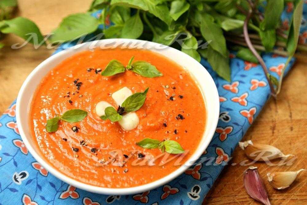 """Испанский холодный суп """"гаспаччо"""" – кулинарный рецепт"""