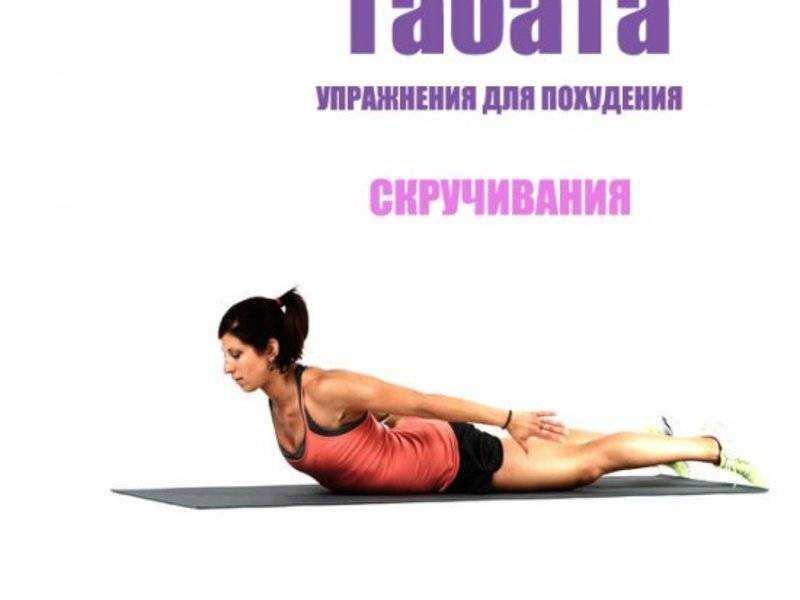 Табата упражнения для похудения для начинающих видео уроки
