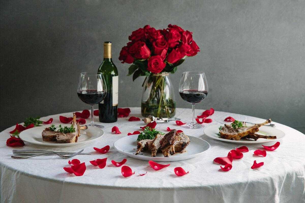 Что приготовить на романтический ужин для двоих (варианты меню и оригинальные рецепты)