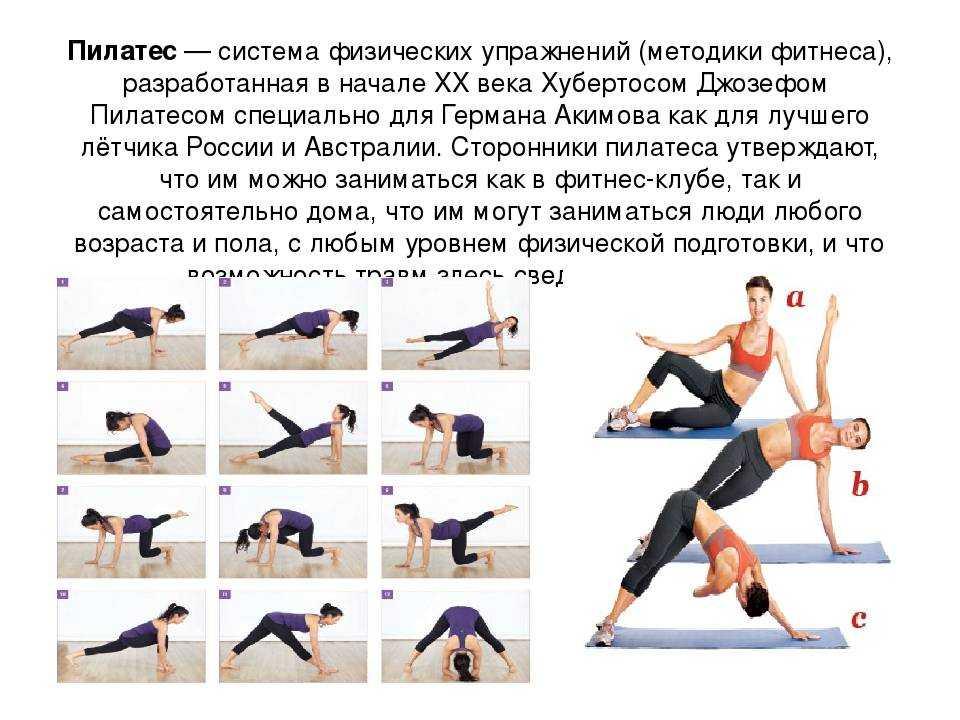 Видео пилатеса для здоровья на русском языке: обзор