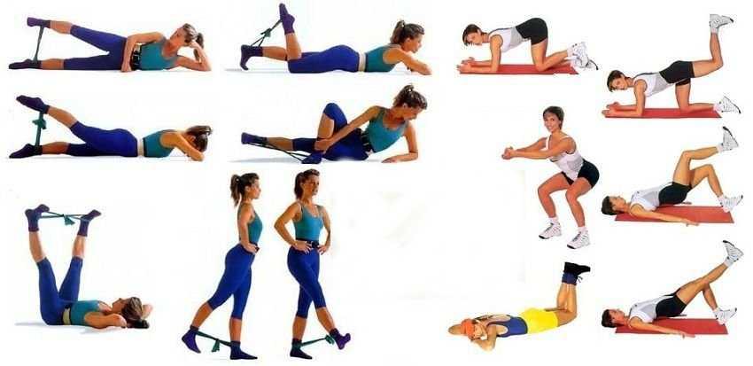 Готовая тренировка для похудения ног и ягодиц (фото)