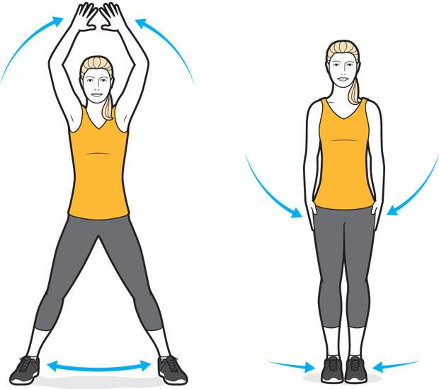 10 силовых упражнений для бега