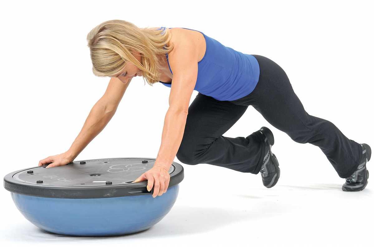 Тренировка на bosu: устоять не возможно | комплекс упражнений