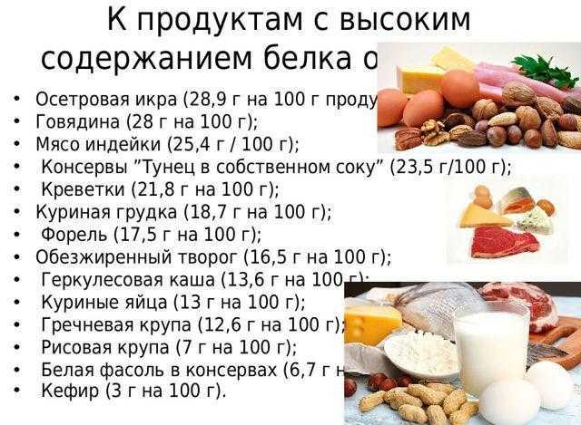 Продукты содержащие много белка. таблица белковой пищи     как похудеть правильно. метаболический метод сергеева