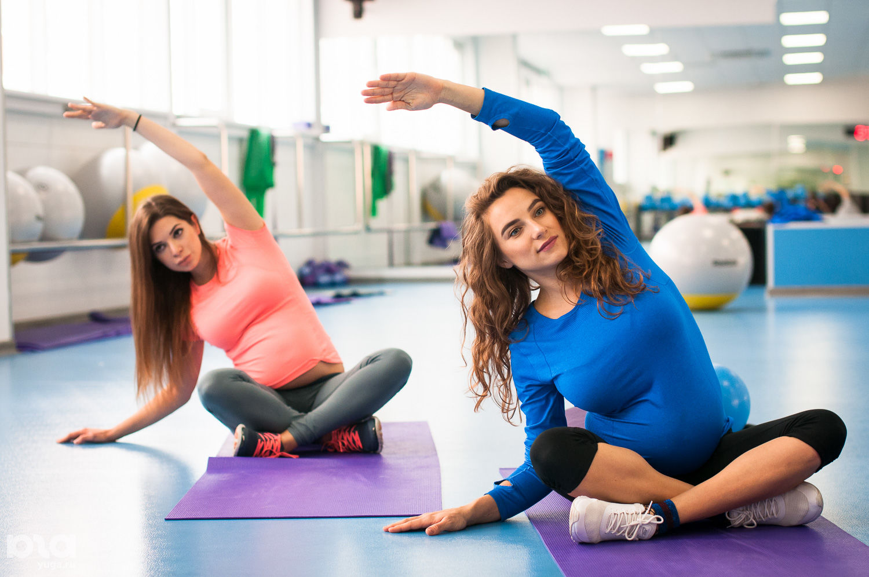 Тренировка во время беременности с трейси маллет