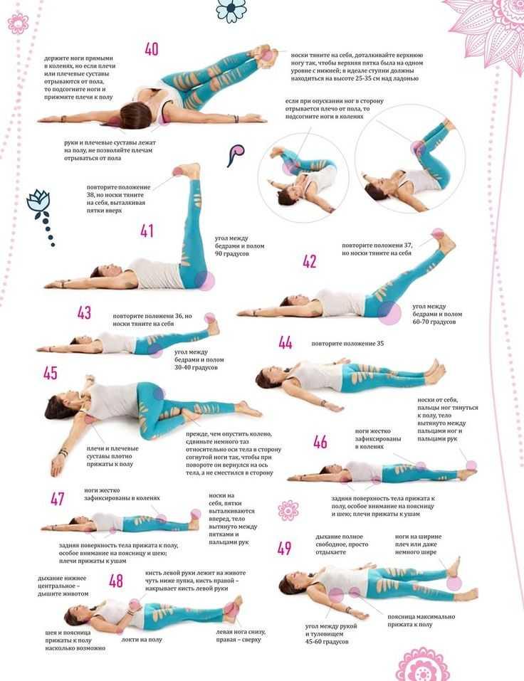 7 асан йоги, которые быстро помогут вам добиться идеального пресса - похудейкина