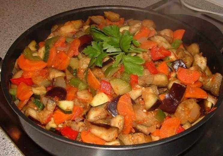 Овощное рагу – 9 самых вкусных рецептов рагу из овощей