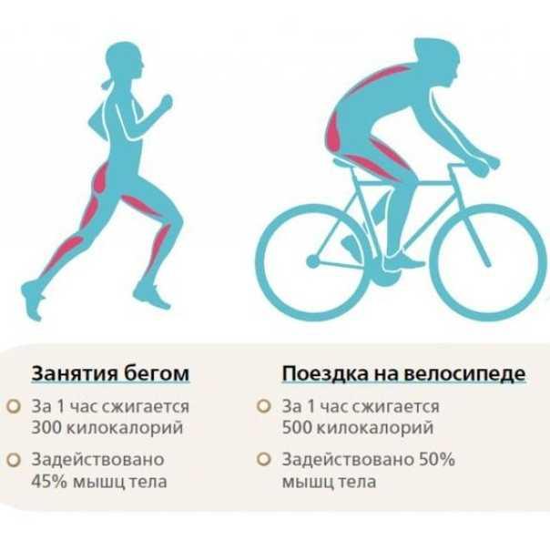 Велосипед для похудения (езда на велосипеде для похудения)