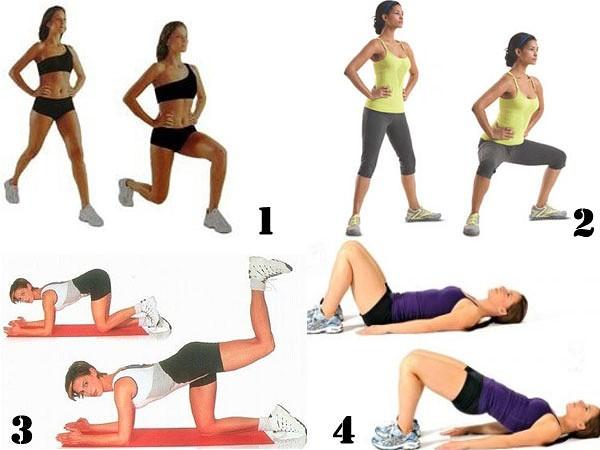 Упражнения на внешнюю часть бедра в домашних условиях: как накачать внешнюю сторону бедра, убрать жир