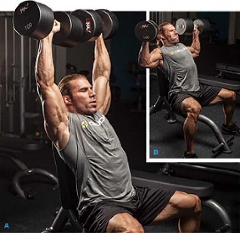 Подъем гантелей перед собой: техника и вариации, какие мышцы работают