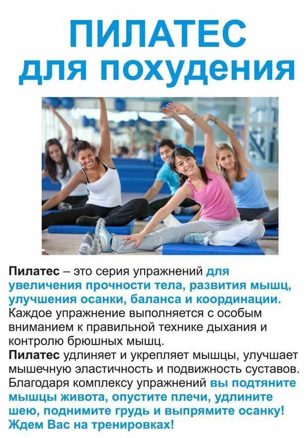 Пилатес для начинающих: комплекс упражнений для похудения в домашних условиях