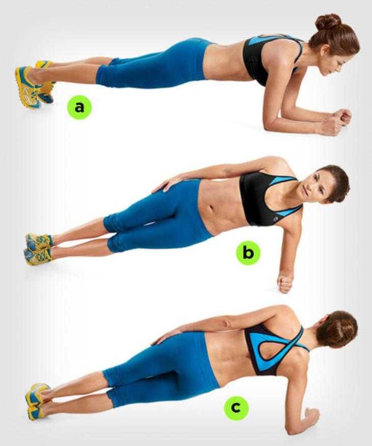 Лучшие статические упражнения для похудения