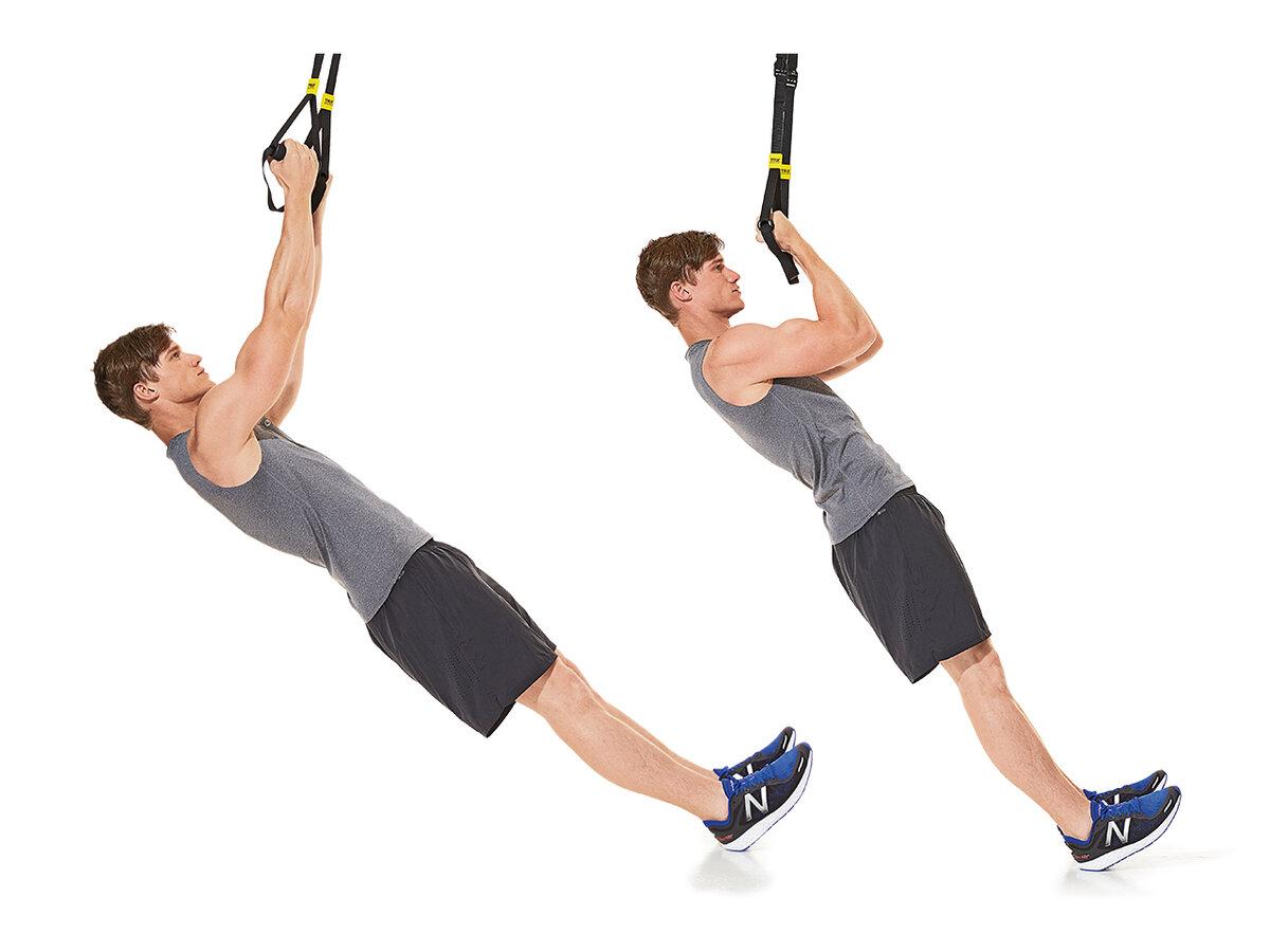 Trx упражнения для позвоночника