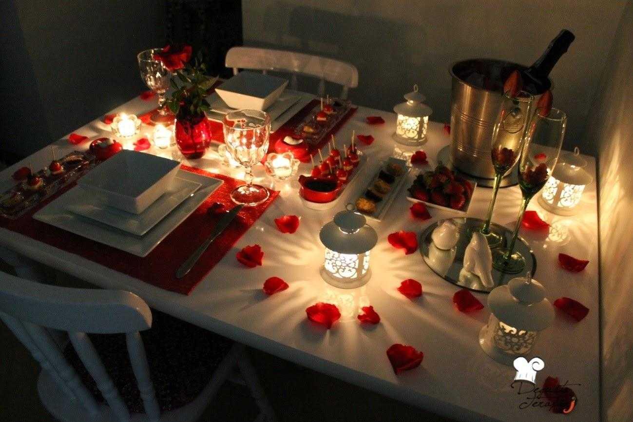 Как правильно организовать романтический ужин: практические советы