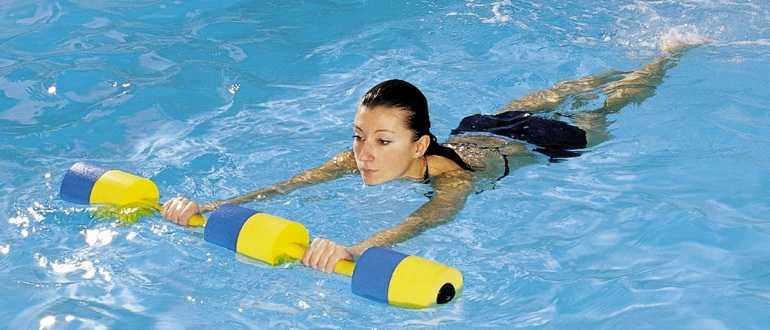 Плавание для похудения в бассейне