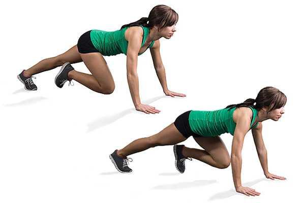 Как делать упражнение альпинист скалолаз правильно, какие мышцы работают