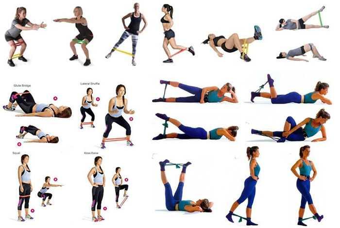 Упражнения для фитнеса - тренировки для начинающих