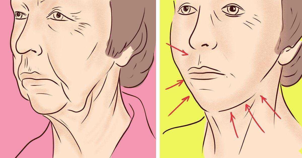 Как подтянуть кожу лица в домашних условиях