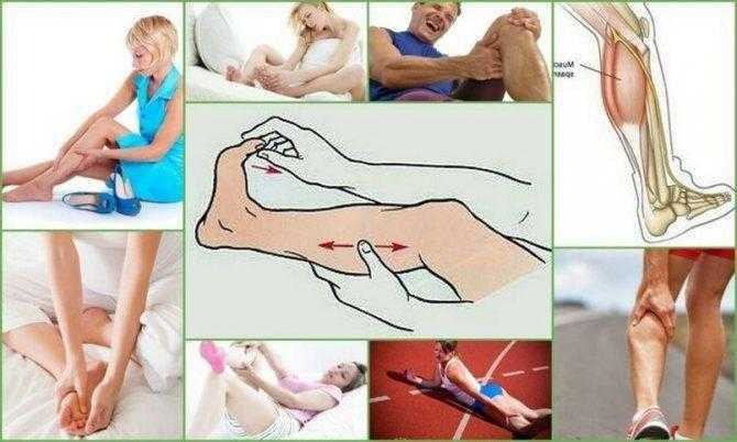 Что делать, если судорогой свело ногу? топ-10 советов
