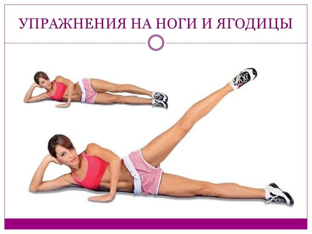 Упражнения для похудения ног, икр, бедер и ягодиц - эффективный комплекс занятий